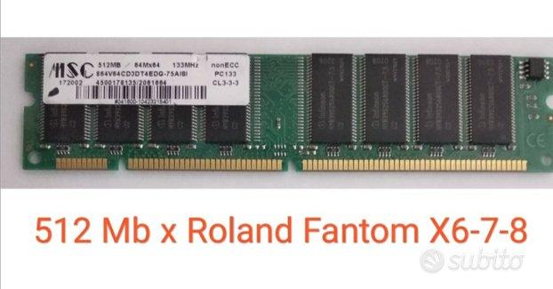 Korg Akai Yamaha Motif SDRAM