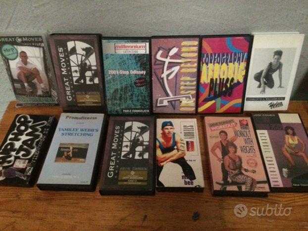 82 VHS ORIGINALI e INTERNAZIONALI di AEROBICA