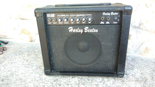 Amplificatore basso elettrico hb-20b Harley benton