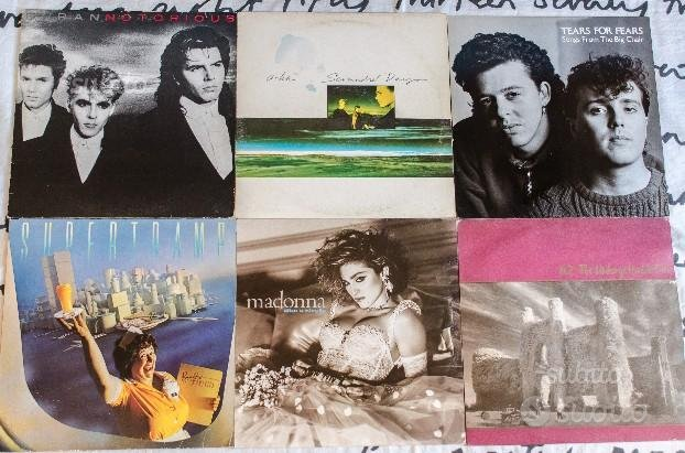 Dischi in vinile, titoli vari (Pop, Rock) LP
