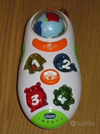 Chicco telefono parlante anche inglese