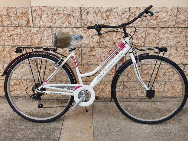 City bike Brera 6v donna acciao (NUOVA)