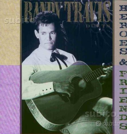 Randy travis - heroes & friends lp