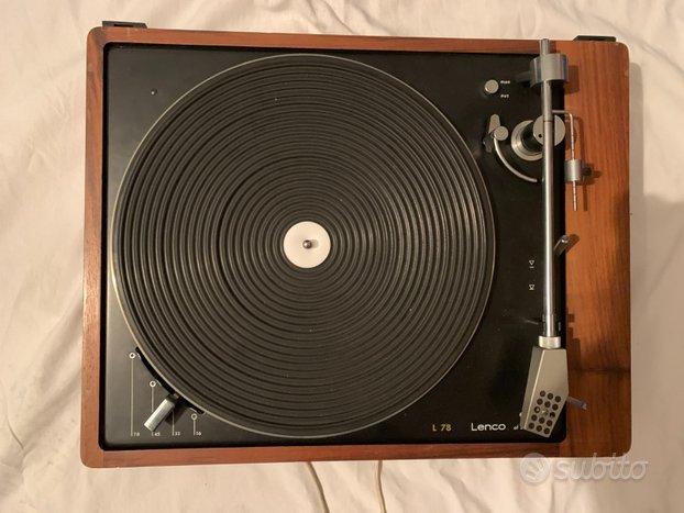 Impianto stereo Hi-Fi vintage anni 70