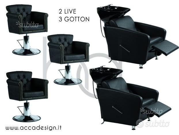 HD - Arredamento salone parrucchiere completo