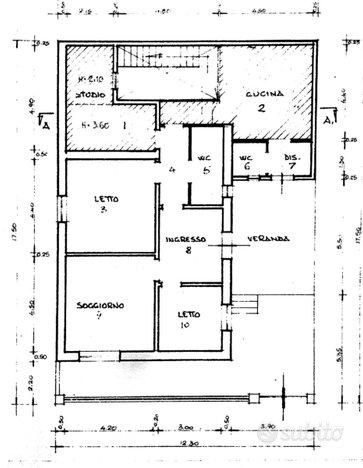 Grande Casa singola con giardino e posto auto