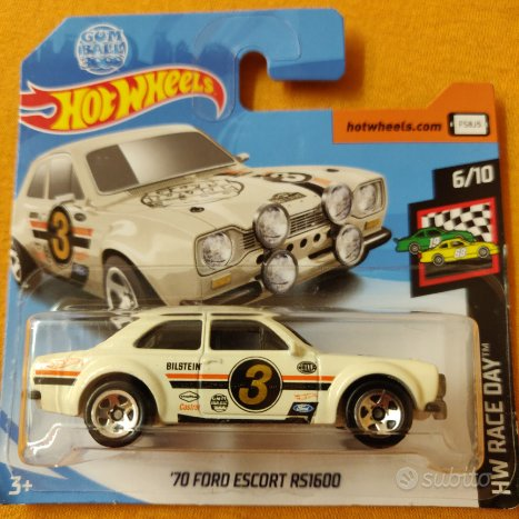 Hot Wheels 1/64 - '70 Ford Escort RS1600