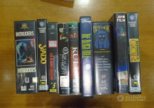 Film VHS fantascienza, horror, fantasy