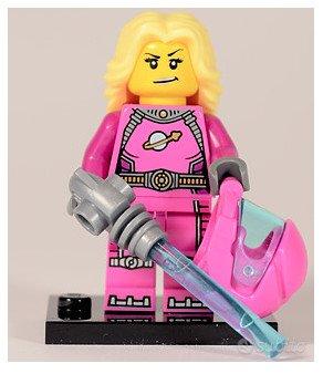 Lego minifigures Serie 6 Intergalactic Girl