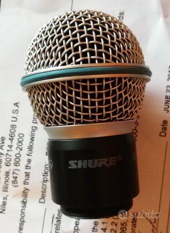 Capsula rpw118 per radiomicrofono beta 58a