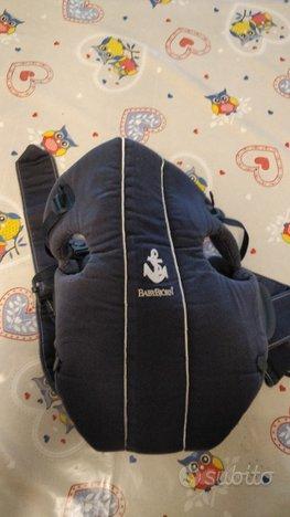 Marsupio (sterilizzato) per bambini BABYBJÖRN blu