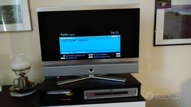 Tv loewe 32 pollici con lettore dvd