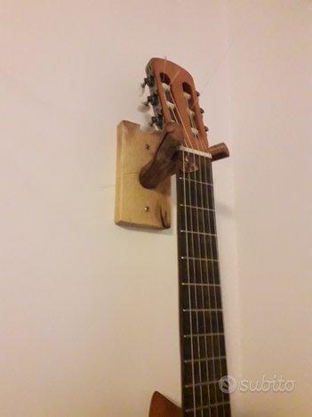 Reggichitarra a muro classica/acustica/elettrica