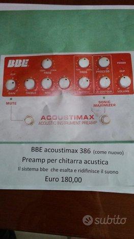 BBE acoustimax 386 COME NUOVO