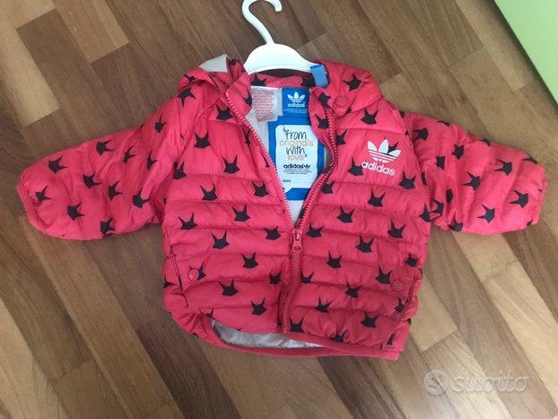 Adidas piumino neonata 6/9 mesi