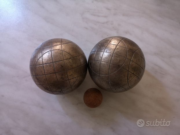 Set bocce in bronzo