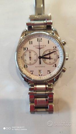 Longines master collection cronografo -originale-
