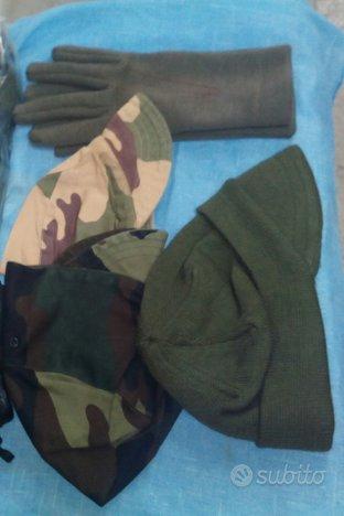 Cappelli, guanti E.I. originali
