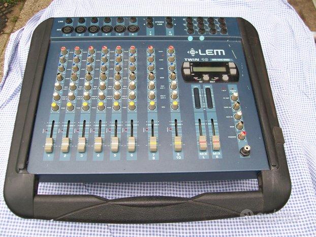 LEM TWIN 10 mixer amplificato