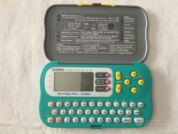 Casio My Magic Diary JD 5000