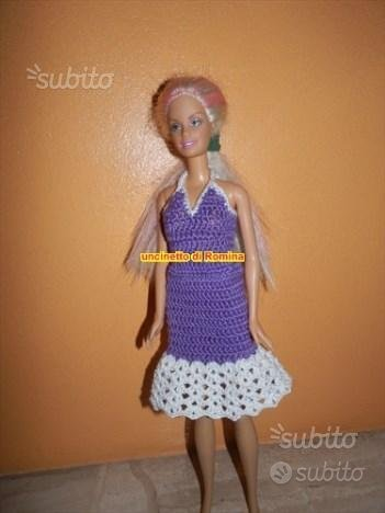 Vestito per bambola barbie