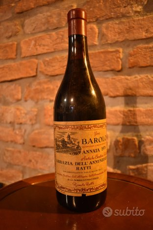 Lotto n 7 bottigli vini Barbaresco Ceretto,Barolo