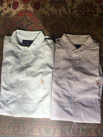N2 camicie Ralph Lauren tg 50 L