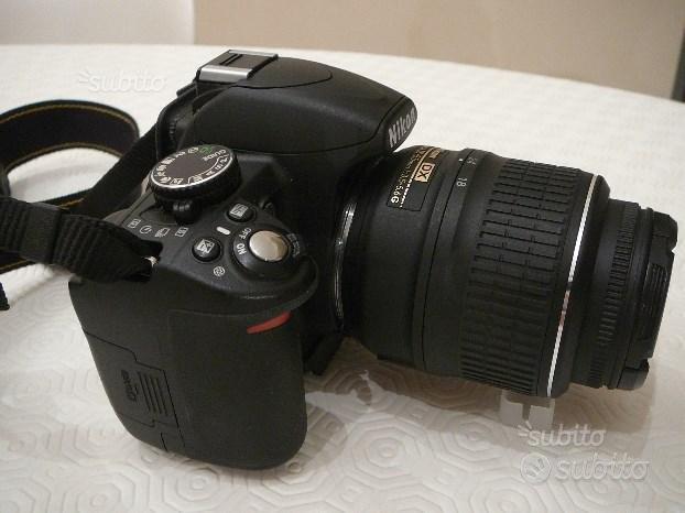 Nikon 3100 + obiettivi e accessori