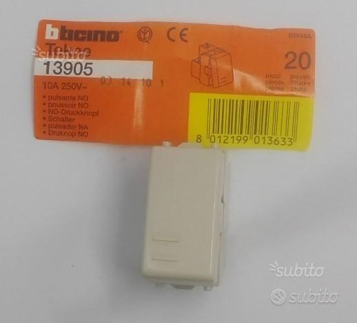 Pulsante NO TEKNE BTICINO 13905