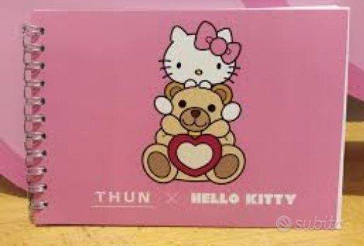 Thun x Hello Kitty quadernino quaderno rosa