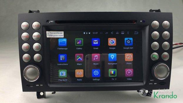 Autoradio navigatore mercedes slk r171 android wif