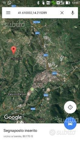 Terreno 2000 mq progetto approvato