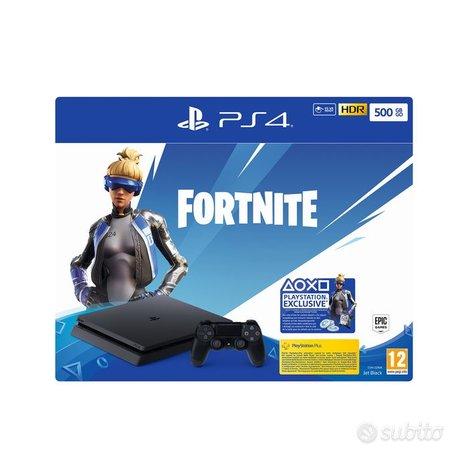 Console ps4 slim 500 gb gioco fortnite NUOVA GARAN