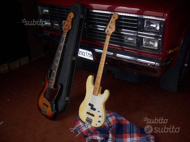 Fender jazz & precision