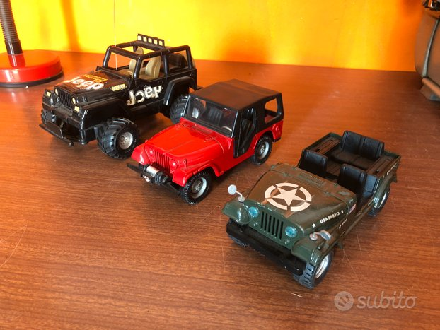 Lotto Jeep Burago / Polistil / Nikko
