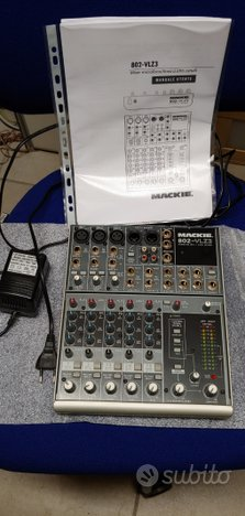 Mixer 8 canali professionale Mackie 802-vlz3