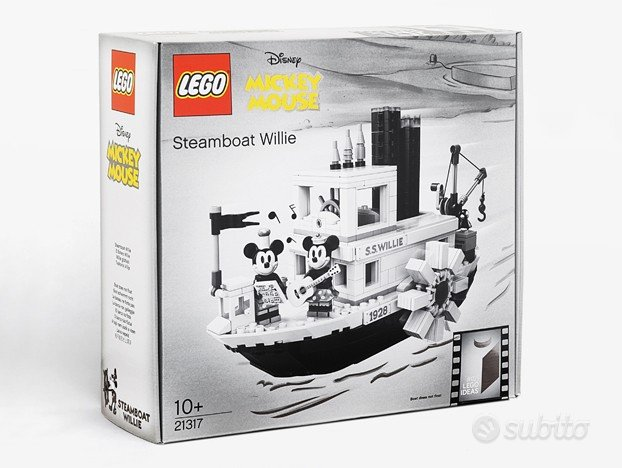 (MISB) Lego Steamboat Willie (Lego 21317)