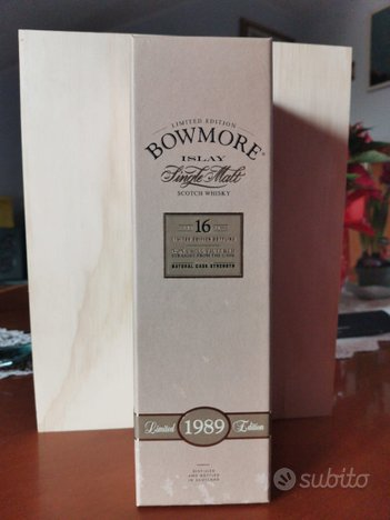 Bowmore 16 years old 1989 limited edition