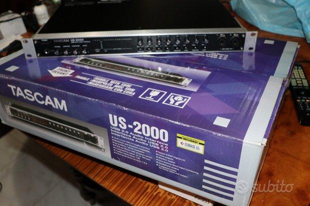 Scheda audio USB Tascam US-2000