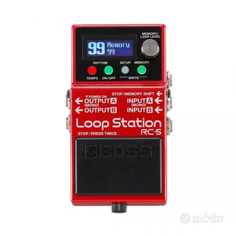 Boss rc5 loop station(nuovo)