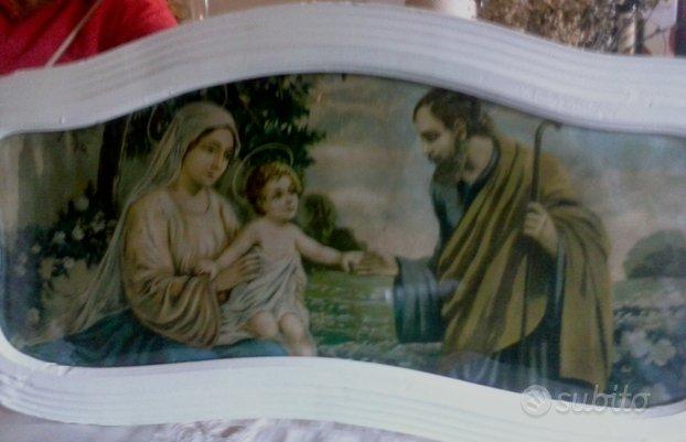 Quadro anni 30 soggetto Sacra Famiglia