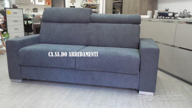 Divano Morena 3 posti letto materasso h. 17 cm
