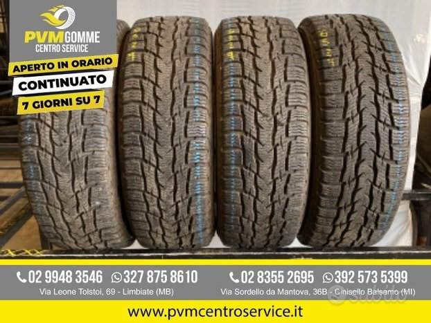 Gomme usate: 195 60 16c 99/97t inv