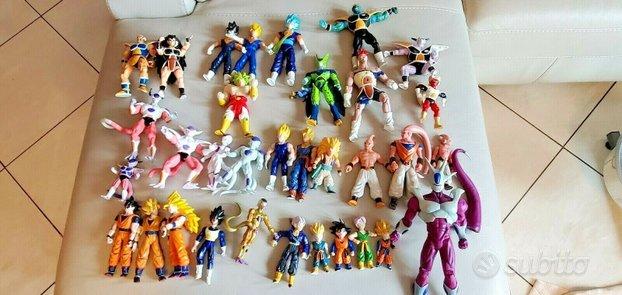 Grande Lotto di 52 Action Figures di Dragonball