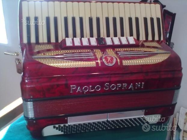 Fisarmonica 120 bassi 4/5 paolo soprani