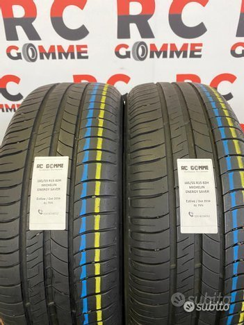 2 Gomme Usate 185 55 15 82H Michelin est