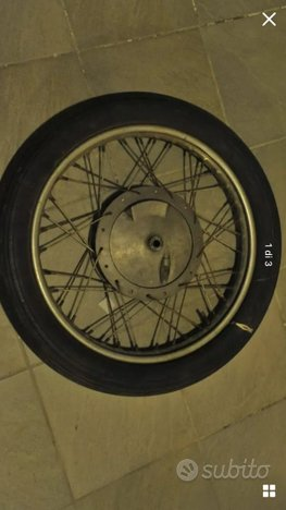 Ruota anteriore Ducati scrambler anni 70