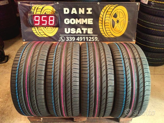 4 Gomme Usate 265 45 20 ESTIVE 99% CONTINENTAL