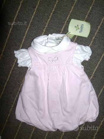 Vestitini neonata tg. 3 mesi estivi nuovi