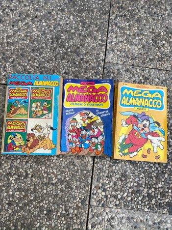 Lotto 3 fumetti di Mega Almanacco - Walt Disney